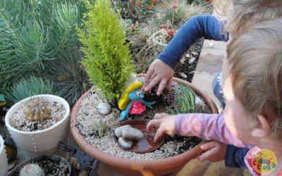 Creative Spring Fairy Gardens