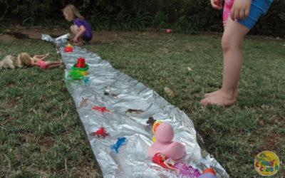 Creative Water Play in the Garden