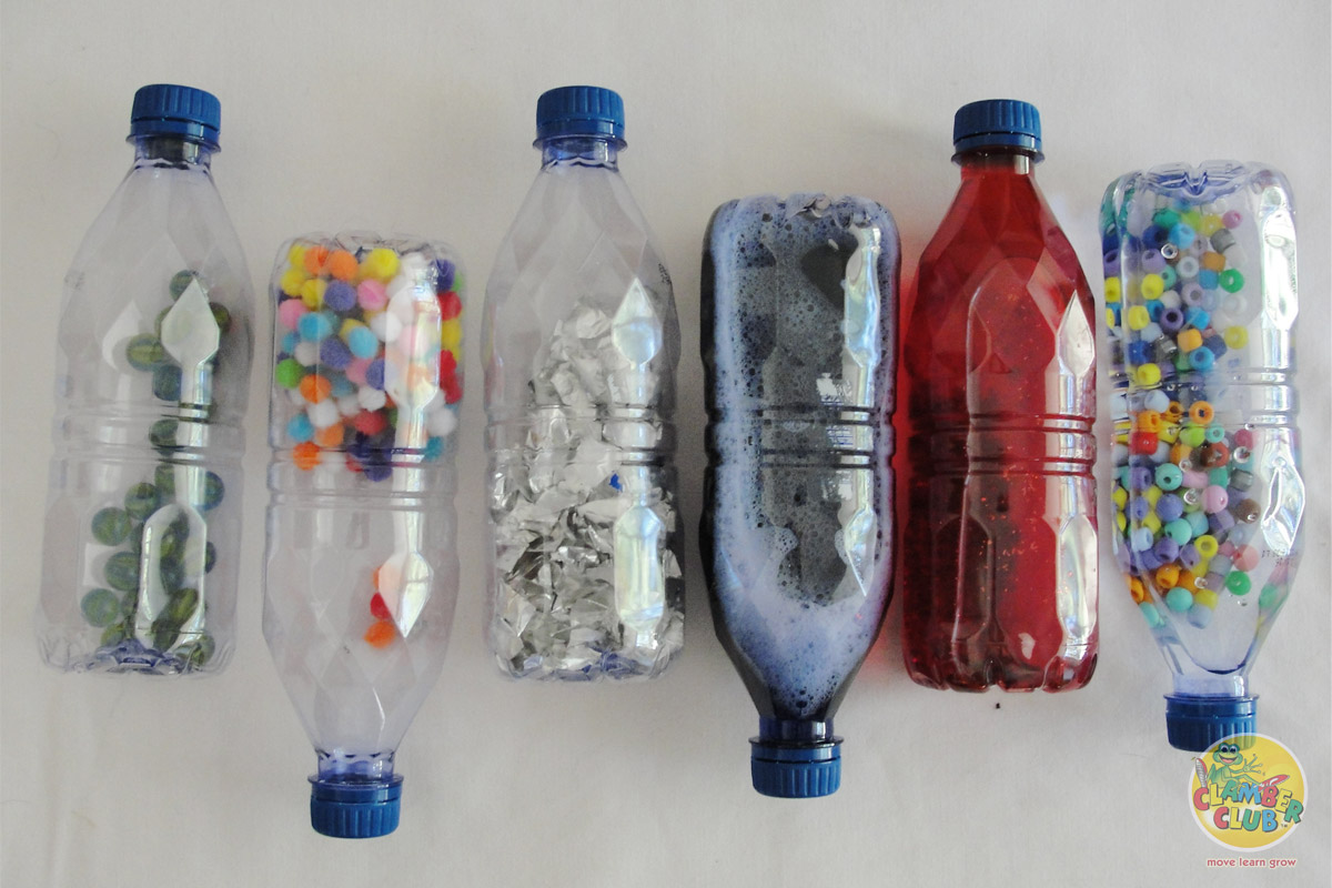 Discovery Bottles For Sensory Play Clamber Club