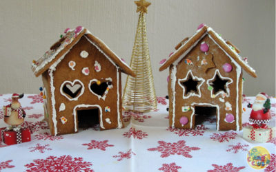 Getting Festive with Gingerbread Houses