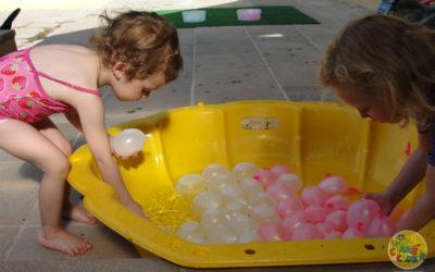 Water Balloon Fun in the Summer