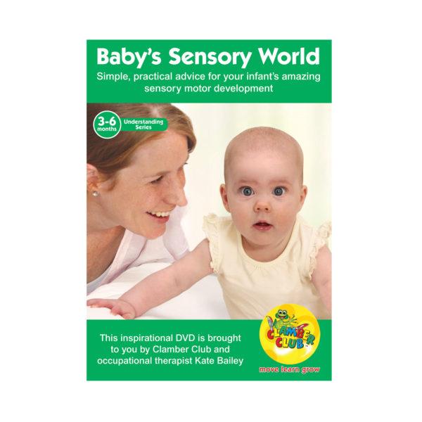 Babys Sensory World 3-6 months DVD 600 x600 v03