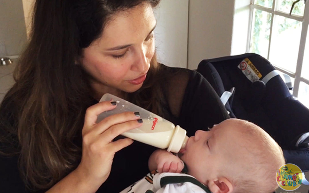 From milk to mash – Introducing baby to solids