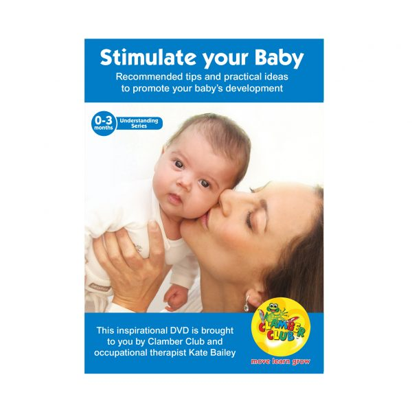 Stimulate your baby 0-3 months DVD 600 x600