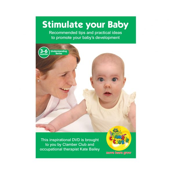 Stimulate your baby 3-6 months DVD 600 x600