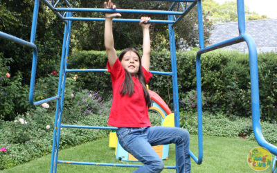 Strong core muscles create confident kids!