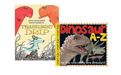 Tyrannosaurus Drip and Dinosaur A-Z-smart Kids