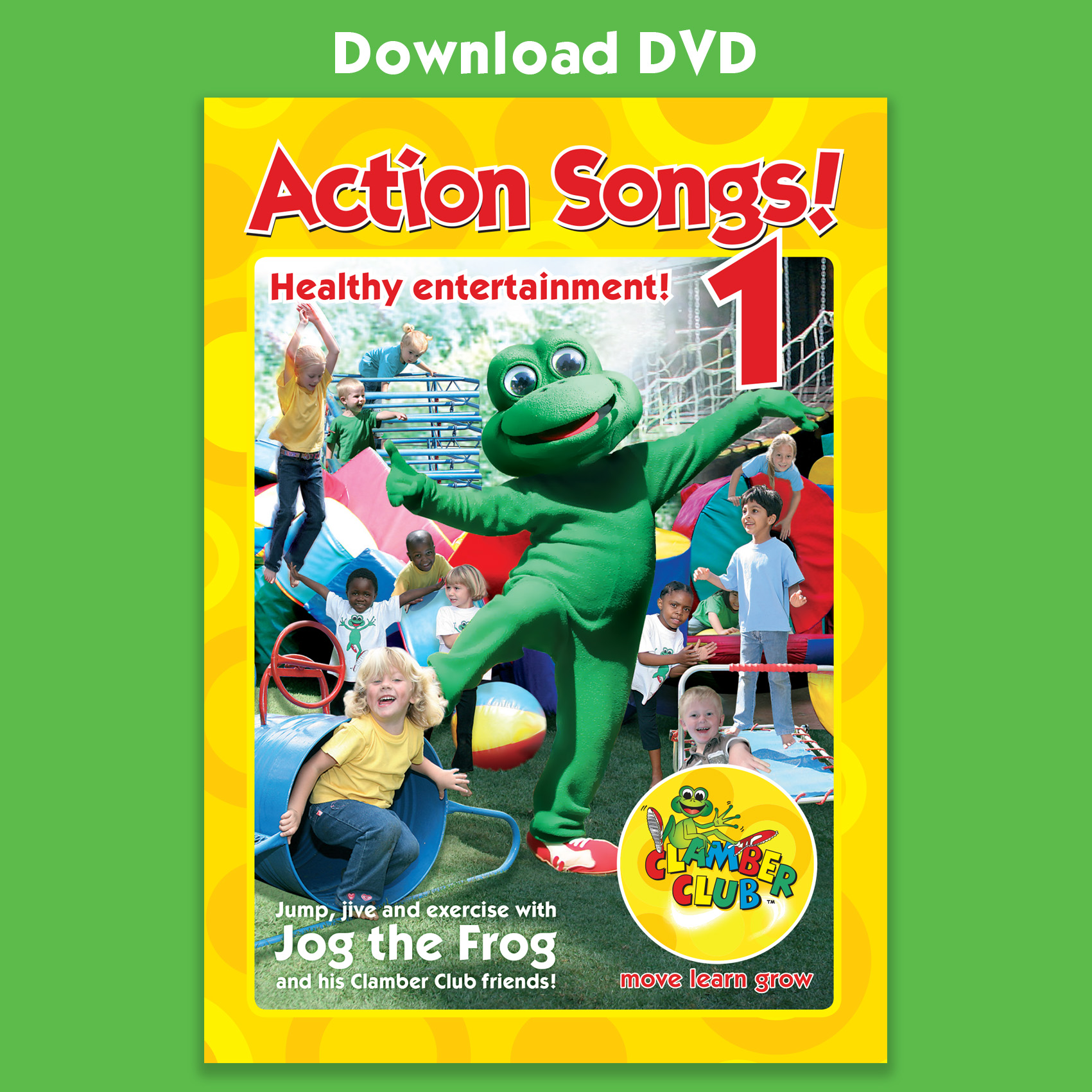 Fitness Dvd For Very Unfit: Action Songs Video