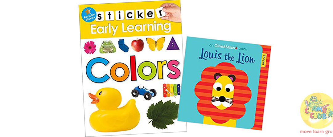 Louis the Lion and Early Learning – Colours Sticker Book