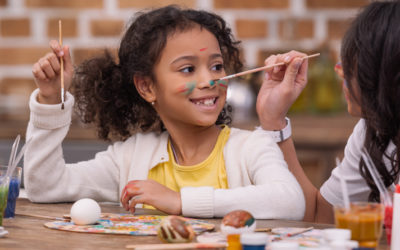 Craft games to improve kids' motor skills