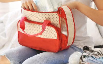 From handbag to nappy bag