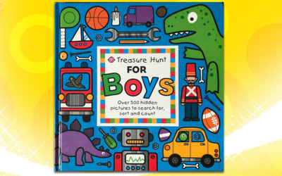 Treasure Hunt For Boys by Roger Priddy