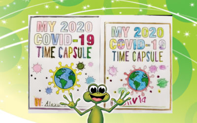 My children's 2020 COVID -19 Time Capsules