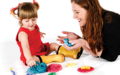 Learning Series – Let's learn our shapes …. with Play Dough!