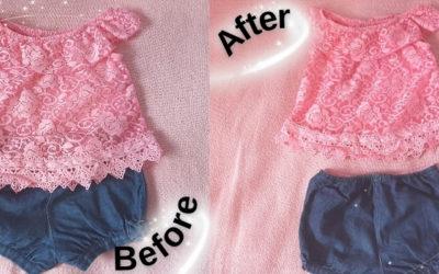 Baby girl clothing hacks