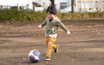 The importance of active play in young children