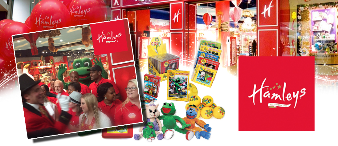 Hamleys South Africa Launches with Clamber Club Products