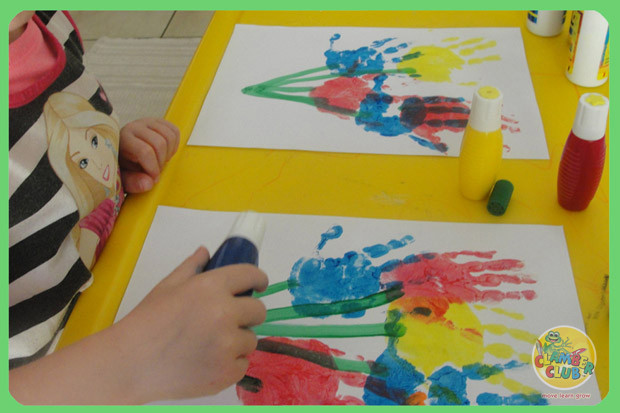 Handprint Paintings