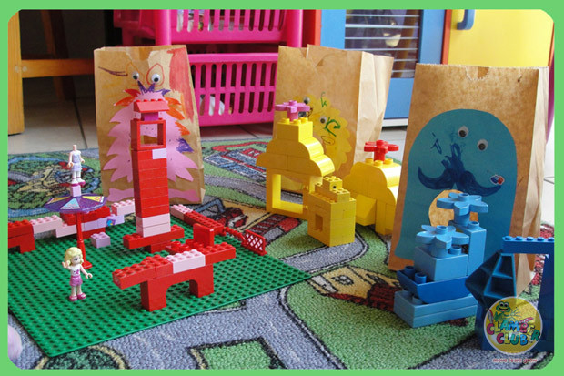 Feed the Lego Monsters